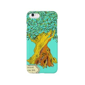 1107歳のオリーブの木 Smartphone cases