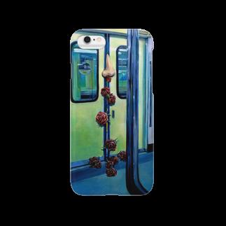 カコの駆け込み乗車 Smartphone cases