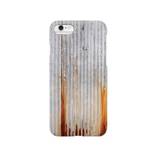 錆びた波トタン Smartphone cases