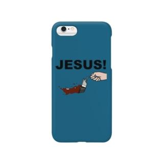 ジーザス! Smartphone cases