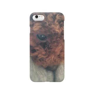 光の中の子犬 Smartphone cases