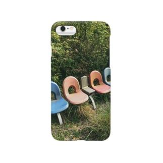 忘れさられた公園の椅子 Smartphone cases