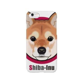 柴犬01 Smartphone cases