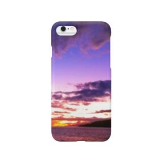 マウイ島日没 Smartphone cases