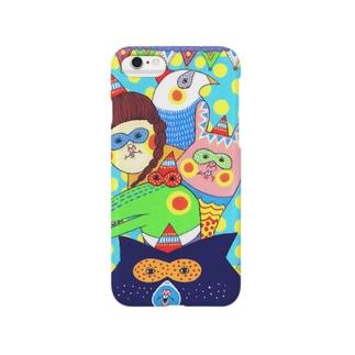 ゆかいななかまたち Smartphone cases
