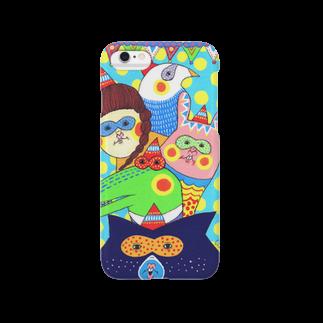Claraのおみせのゆかいななかまたち Smartphone cases