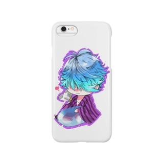 一つ目君_浴衣ver Smartphone cases