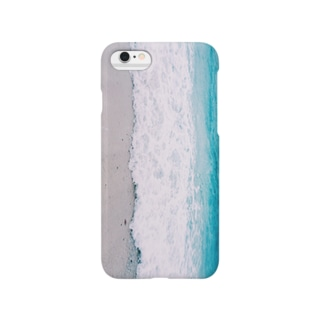 The sky-blue sea Smartphone cases