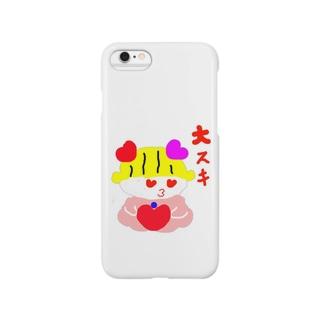 ぱこぱん Smartphone cases