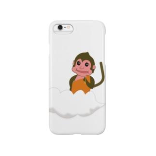 仏モンキー(ぶつもんきー) Smartphone cases