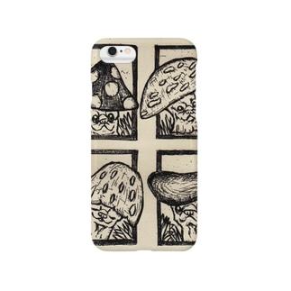 キノコパグ Smartphone cases