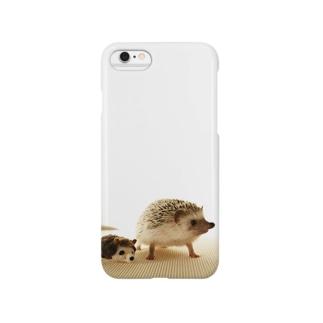 ハリネズミのハリ Smartphone cases