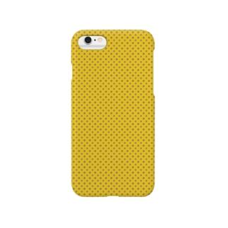 たまりすくんドットパターン Smartphone cases