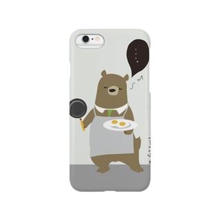 イクメンクマ吉 Smartphone cases