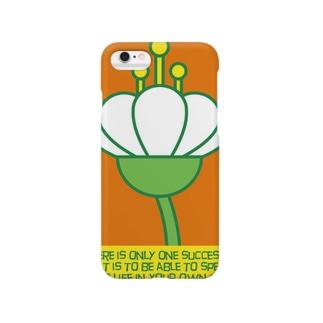 occasiの花の横顔 Smartphone cases