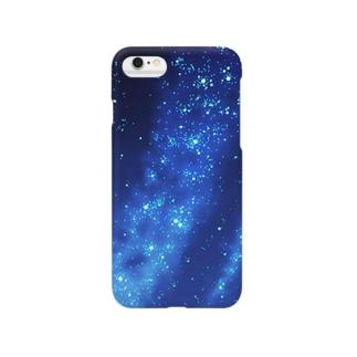 星空…たぶん天の川 Smartphone cases