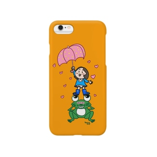 「ハート前線発達中。」 Smartphone cases