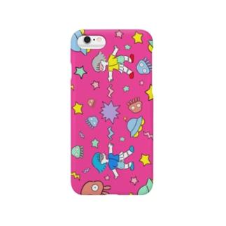 ざらめちゃん(ばちばちプラネット) Smartphone cases