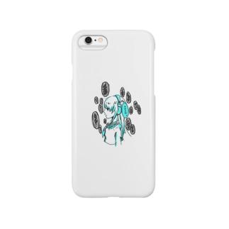 ヘッドホン少女 Smartphone cases