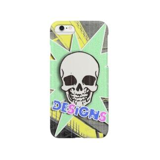 スカルポップ Smartphone cases