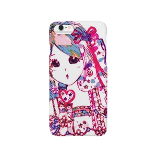 カラフルガール Smartphone cases