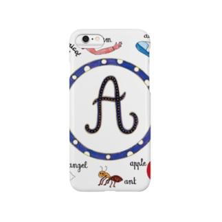"""アルファベット """"A"""" Smartphone cases"""