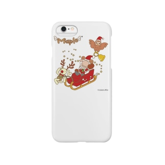 メープルサンタとクリスマス Smartphone cases