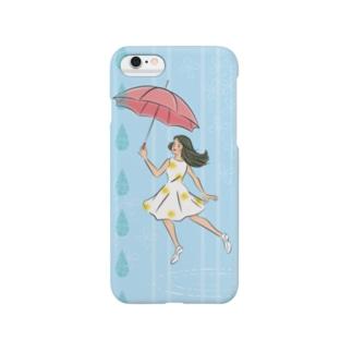 smile umbrella Smartphone cases