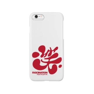 笑 <淡色用> Smartphone cases