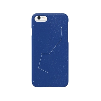 夜空をキリトル『北斗七星』 Smartphone cases