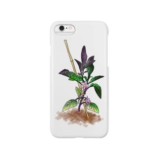 なす Smartphone cases