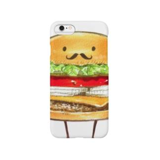 バーガー紳士。(接写) Smartphone cases