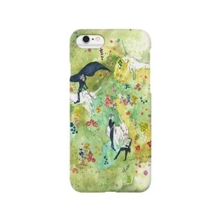 鯨ノ世界(一角の丘) Smartphone cases