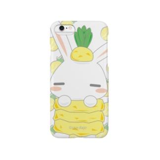 【うさだじょ】パイン Smartphone cases