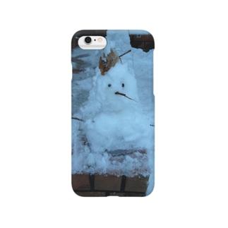 雪だるま Smartphone cases