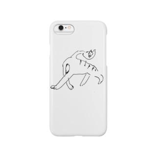 首さん 黒 Smartphone cases