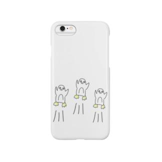 ジャンプペンギン Smartphone cases