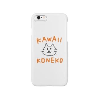 カワイイこねこ Smartphone cases
