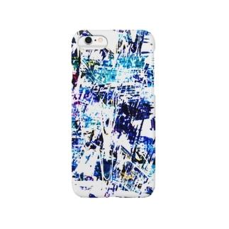 青く霞む Smartphone cases