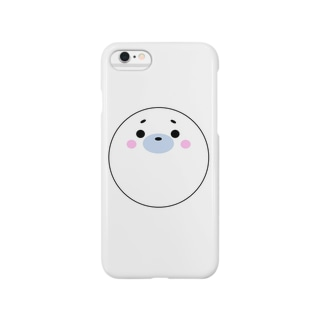 まん丸ごまちゃん Smartphone cases