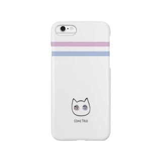 ゆめ見るねこ  iPhoneケース スマートフォンケース
