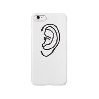 耳スマホケース Smartphone cases