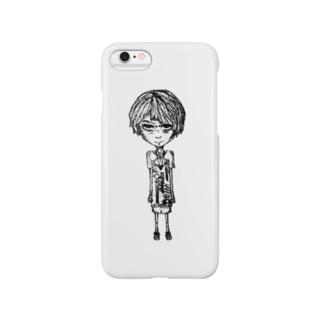 クソガキイラスト Smartphone cases