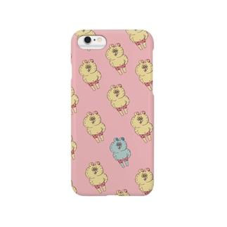Sugar-cog くますぎるクマ Smartphone cases