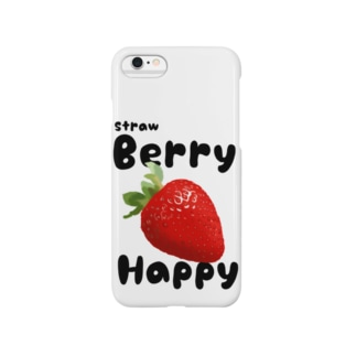 ストロベリーハッピー Smartphone cases