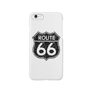 ルート66 Smartphone cases