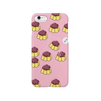 プッチンプリン(pink) Smartphone cases