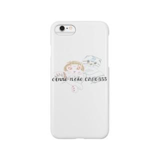 ツインズ宇宙ネコ Smartphone cases