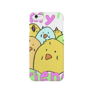 のりのりぴーちゃんのお友達 Smartphone cases