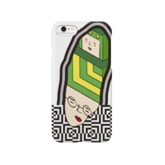 続⚫不思議な感じ Smartphone cases